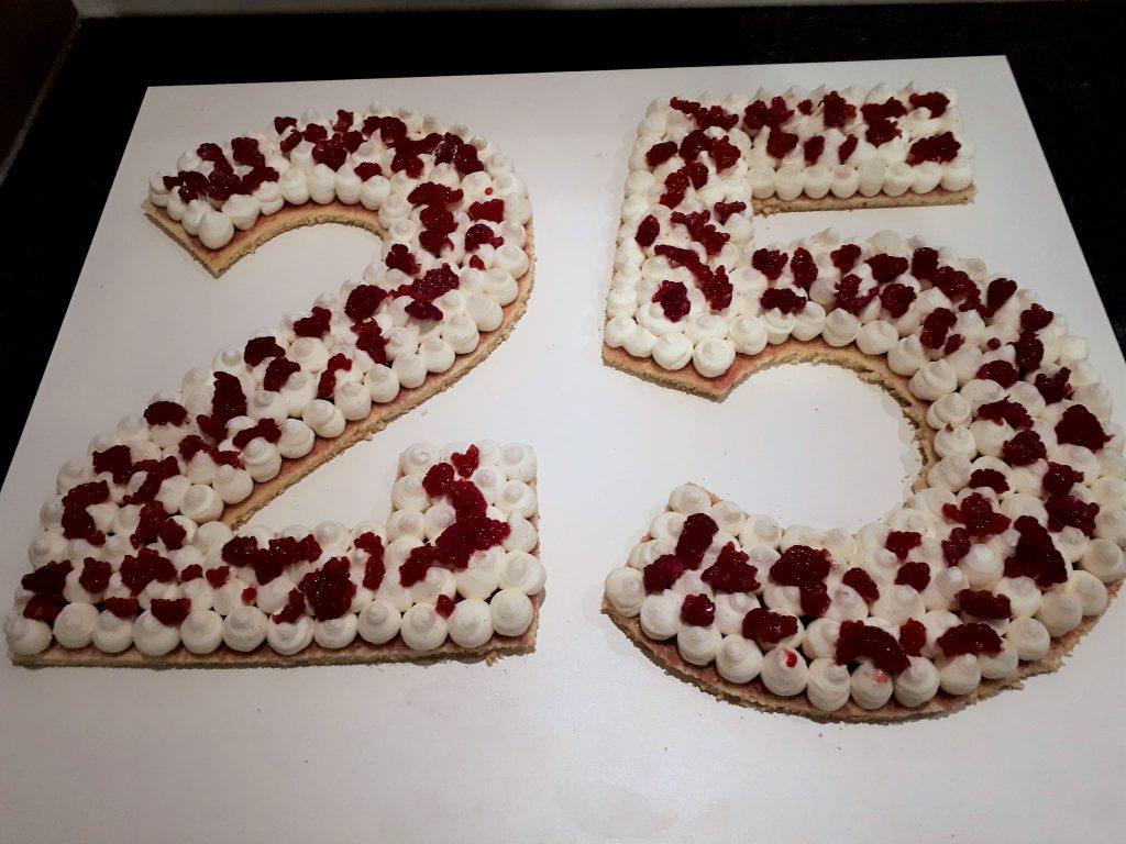 Number Cake La Recette Sur Les Desserts De Stephanie