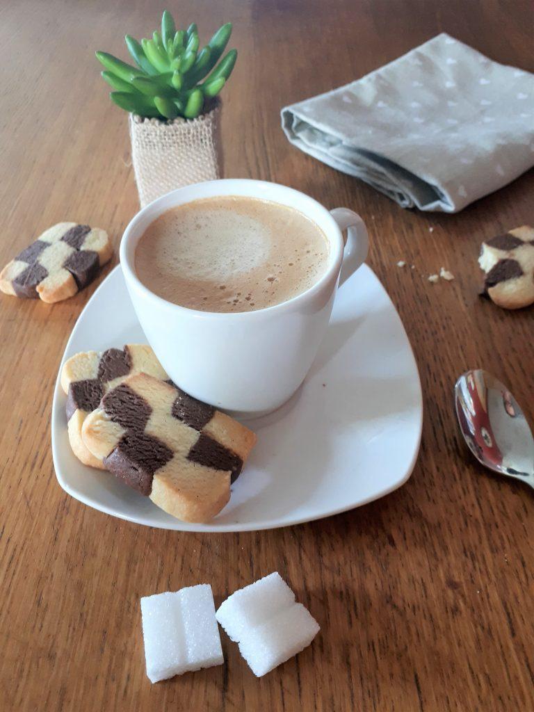 Sablés vanille et cacao