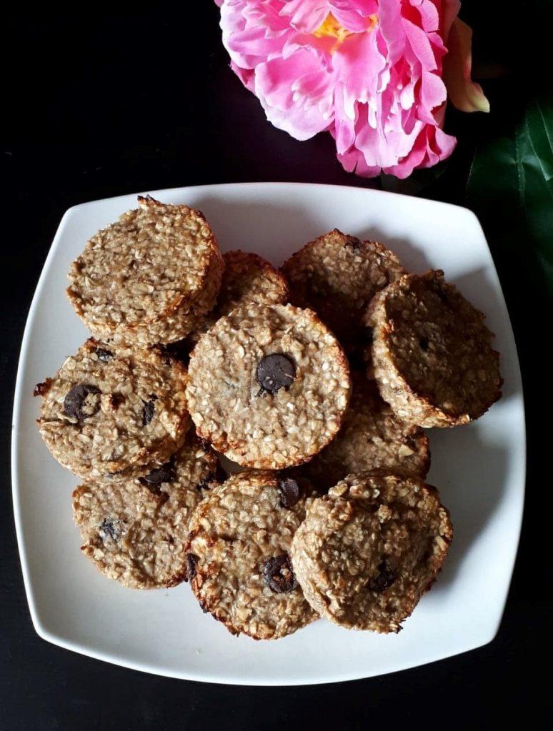 Cookies healthy banane avoine
