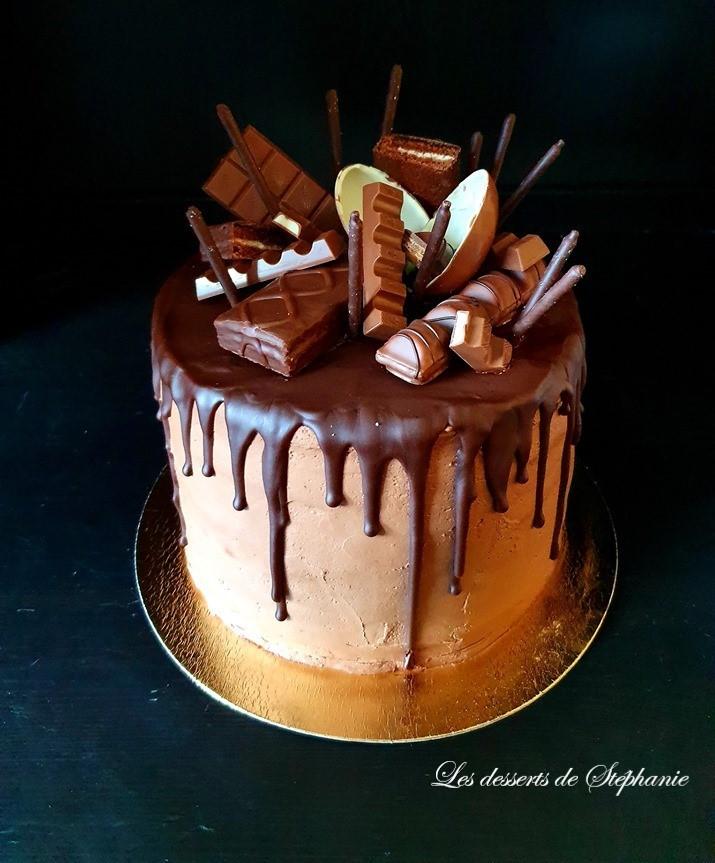 Drip Cake Au Chocolat Les Desserts De Stéphanie
